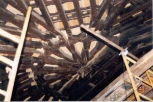 Restauración de cubierta de la Nave de la Iglesia Parroquial de la Asunción de El Cubillo de Uceda